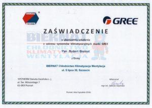 Systherm technik szkolenie systemy klimatyzacyjne GREE