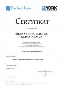 Certyfikat York