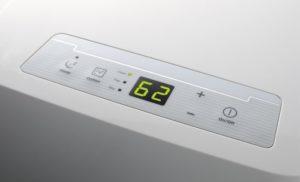 Klimatyzator przenośny Electrolux wyświetlacz