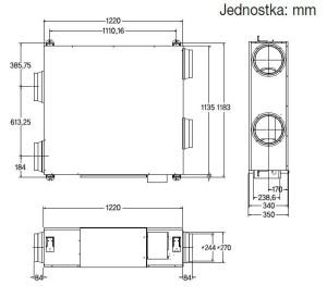 REKUPERATOR SAMSUNG RHF080EE+VH02