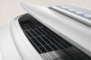 Klimatyzator przenośny Electrolux klapka